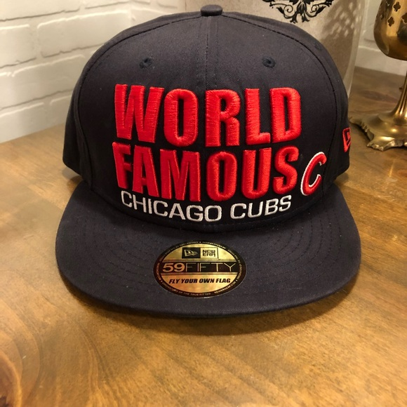 d34f2addeb2 MLB Chicago Cubs New Era 59Fifty Snapback Hat FIRM.  M 5ac7f35b61ca1071aab7d898